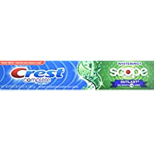Crest Complete Whitening + Scope Outlast Mint Toothpaste, 5.8 oz.