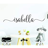 name wall decals name stickers name decals girls wall decor letter decals