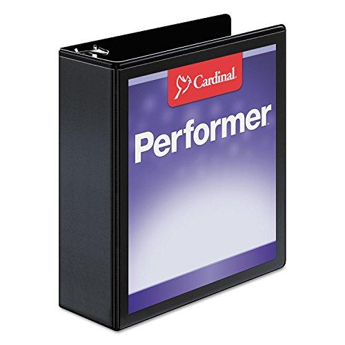 Cardinalamp;reg; Vinyl Clearvue Xtravalue D-Ring Presentation Binder, 3in Capacity, (Clearvue Xtravalue D-ring Presentation Binder)