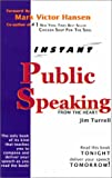 img - for Public Speaking From The Heart book / textbook / text book