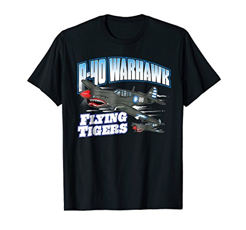 P-40 Warhawk Flying Tigers Warbirds T-Shirt