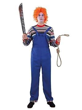 DISBACANAL Disfraz de muñeco diabólico para Hombre - Único, XL: Amazon.es: Juguetes y juegos