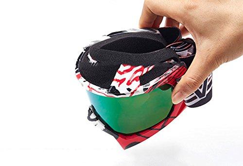 explosiones Arenado Protectoras de Gafas esquí protección protección contra Material D ERTnq8wx