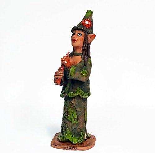 Hada Incienso Figura Incienso Muñeco cerámica: Amazon.es: Jardín