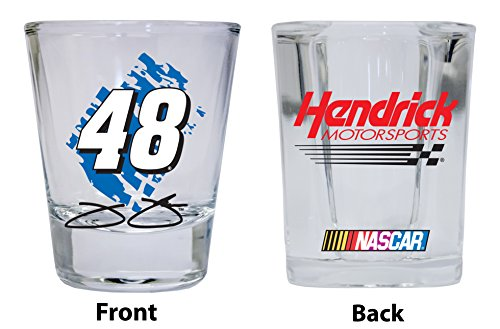 Jimmie Johnson #48 Shot Glasses- Set of 2 - Jimmie Johnson Set