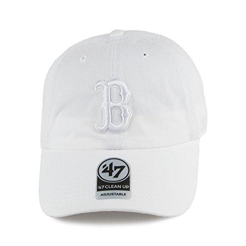 47 Gorra de béisbol Clean Up Boston Red Sox Brand - Blanco Delicado ·   ea419d2d85c