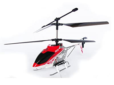 Cobra 3 Channel Radio Control Mid-Sized Gyroscopic Helicopter by Cobra