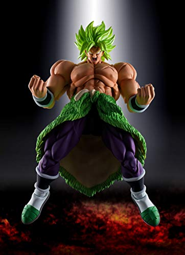 TAMASHII NATIONS Bandai S.H. Figuarts Super Saiyan Broly Full Power Dragon Ball Super: Broly Action Figure