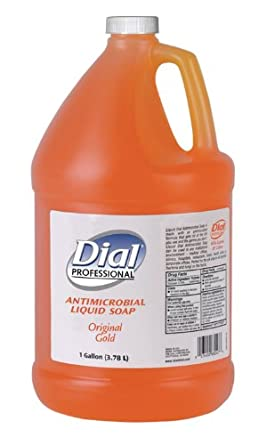 Dial Professional 88047 Dial Gold Antimicrobial Liquid Soap, 1 Gallon (Case of 4)