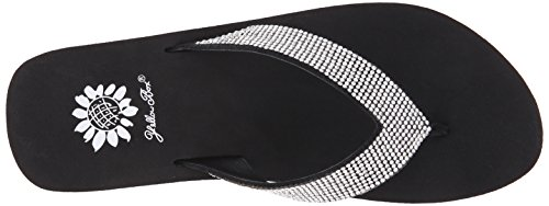 Black Flip Women's Box Flop Cliff Yellow Clear nX6pxg