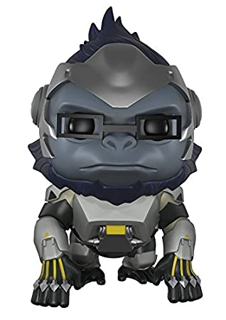 Funko Pop! Games: Overwatch Action Figure - Winston, 6""