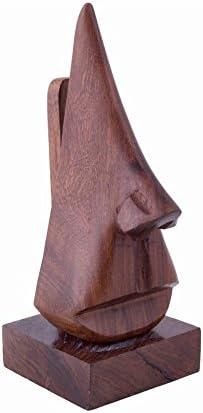 /Lunettes Accessoire de Bureau rend un unique et /él/égant cadeau danniversaire ou de No/ël w-40076 Affaires/® Lunettes support/ /support en bois porte lunettes en forme de support//support/