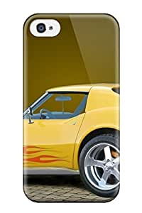 Awesome Chevy Flip Case With Fashion Design For Iphone 4/4s wangjiang maoyi
