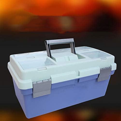JSY ツールボックスプラスチックボックスガッシュストレージボックス絵画アートボックス絵画 ツールボックス (Color : C)