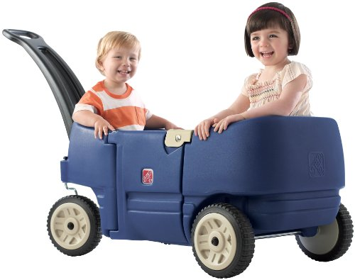 Step2 Wagon for Two Plus Blue by Step2