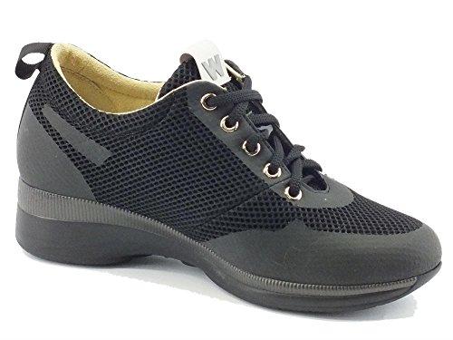 Tecnico Sneakers Tessuto Nero In Donna Melluso xPvwq7w