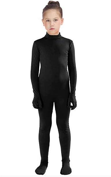 WOLF UNITARD Kids Lycra Spandex Bodysuit Dancewear
