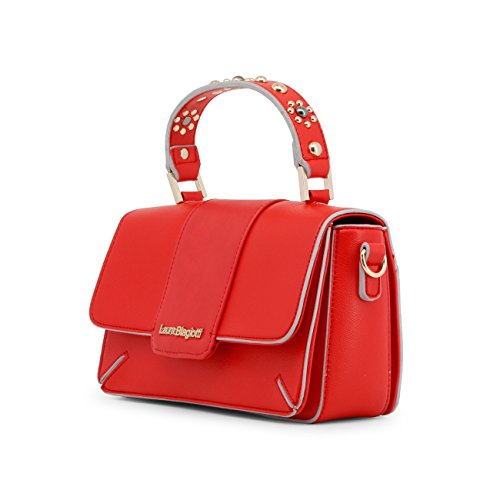 Women Biagiotti Handbag Genuine Red Designer Laura zxrzq7SAw