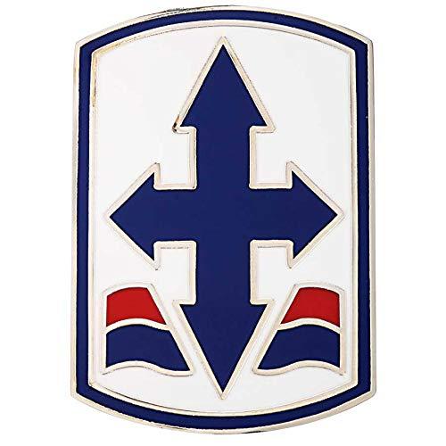 Medals of America 29th Infantry Brigade Combat Team Enamel CSIB Multicolored L