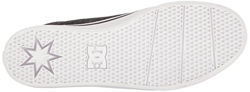 DC Men's Trase TX SE Skate Shoe, Black/Polka Dot, 8 D US