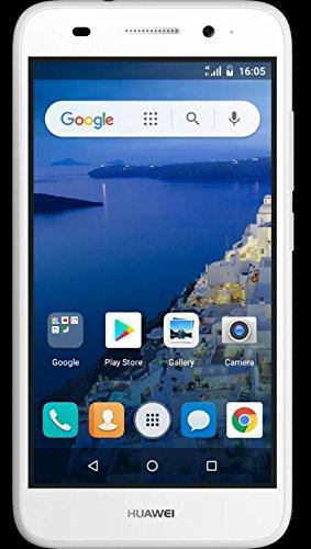 Huawei Y5 Lite 2018 CAG-L23 DUAL SIM 5.0'' 4G LTE Quad Core 8GB 8MP Smartphone Factory Unlocked (White) (International Version- No Warranty) … (White) by Huawei