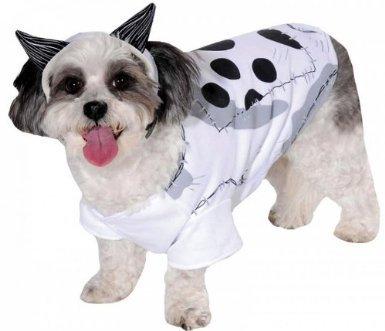 Pets In Disney Costumes (Rubies Costume Disney Frankenweenie Pet Costume, Medium, Sparky The Dog)