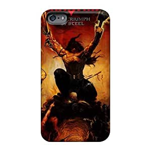 Curry-cases ZQk1262VQhu Case Cover Skin For Iphone 6plus (manowar Band)