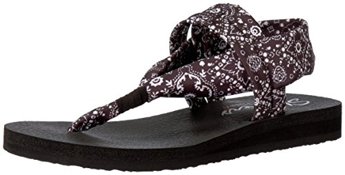 Skechers Kicks Bandana Studio Black Women's Meditation wTqtrRw