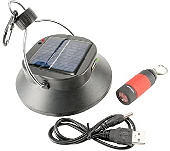 Rechargeable Camping Led Lights Power Bank With Solar