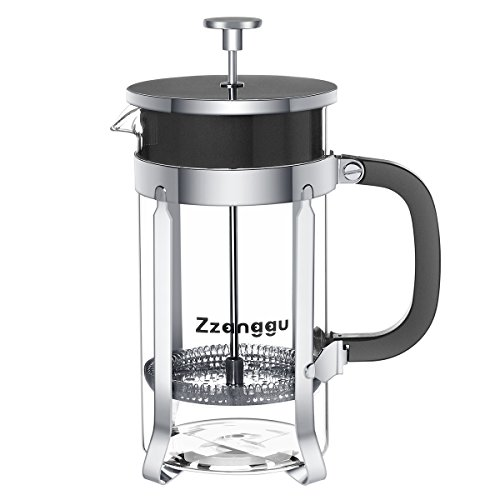 Why Choose Zzanggu French Press Coffee Maker Tea Pot with Heat Retention Double Wall Stainless Steel...