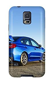 Anti-scratch And Shatterproof Subaru Wrx Sti 28 Phone Case For Galaxy S5/ High Quality Tpu Case