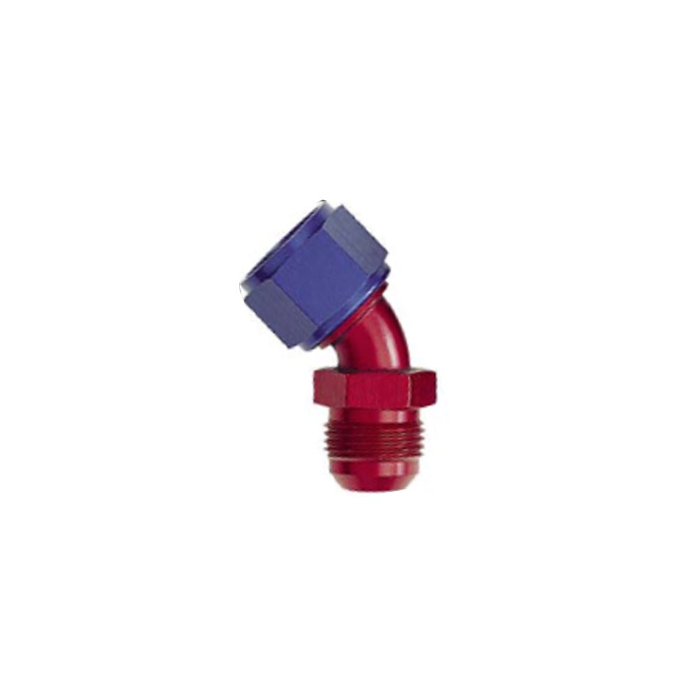 XRP 920406 Size 6 45 Degree Female Swivel to Male Flare Adapter