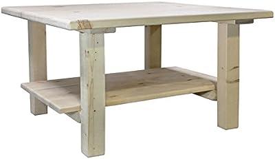 Amazon Com Furinno 11179gyw Bk Coffee Table French Oak