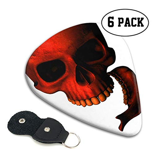 Novelty Top Cool Halloween Skull Red Death Devil
