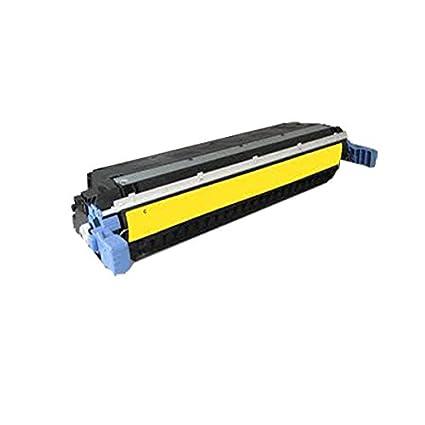 PerfectPrint - Cartucho de toner compatible Impresora Laser Amarillo Q6472A para HP Laserjet 3600 3600N 3600DN