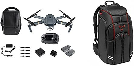 DJI Mavic Pro Fly More Combo - Cuadricóptero (4K/30 fps, 12 Mp, 27 ...
