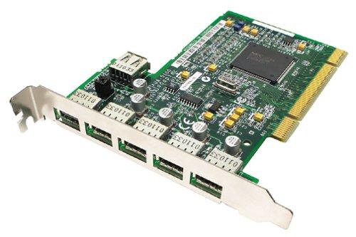 Adaptec AUA-5100 USB 2.0 6 Port (5 external, 1 internal) Card