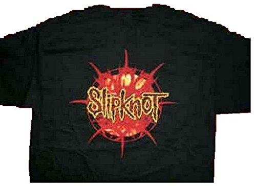 Slipknot-Orange Größe XL = Flame 116.84 cm Brust