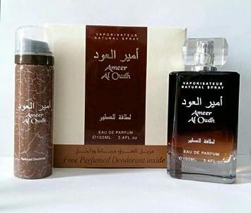Ambrés Deo 100 Edp Woody Al Oudh Ameer Ml Parfum Sweet Avec Par Lattafa Vaporisateur QreoCdxBW