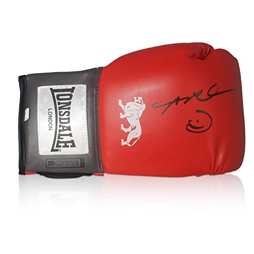 Sugar Ray Leonard Signed Red Boxing Glove | Autographed Memorabilia