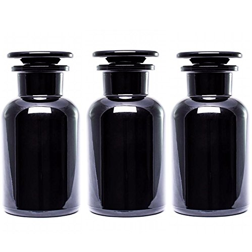 UltravioLeaf Glass Apothecary Jar 250ml