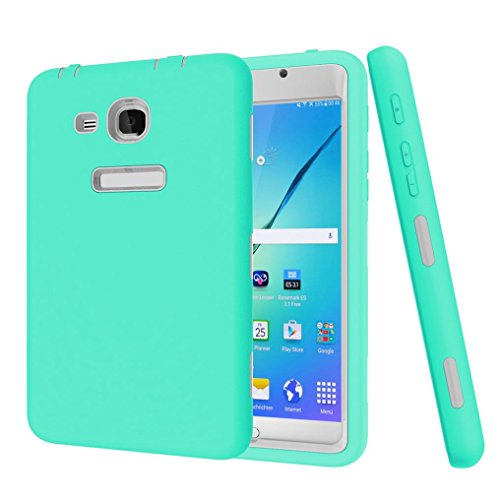 GBSELL Rugged Shockproof Protective Cover Case For Samsung Galaxy Tab A 7 SM-T280 SM-T285 Tablet (Mint Green)