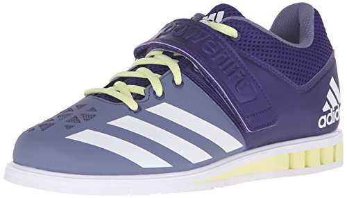 Performance Fabric Adidas Purple Powerlift del entrenador Collegiate Ice Yellow 3Cross zapato White dqBqgOr