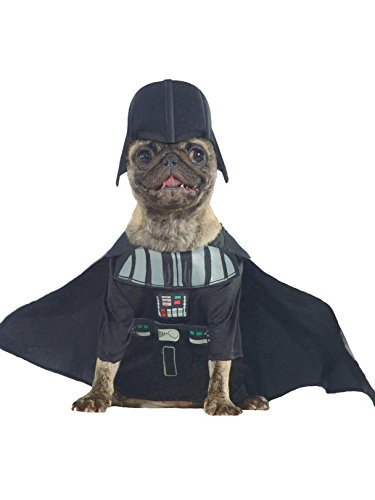 Rubie's Star Wars Collection Pet Costume, Large, Darth Vader]()