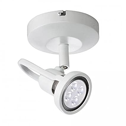 spot lighting for kitchens. WAC Lighting ME-826LED-WT LED Monopoint 826 Spot Light With Lamp Included For Kitchens I