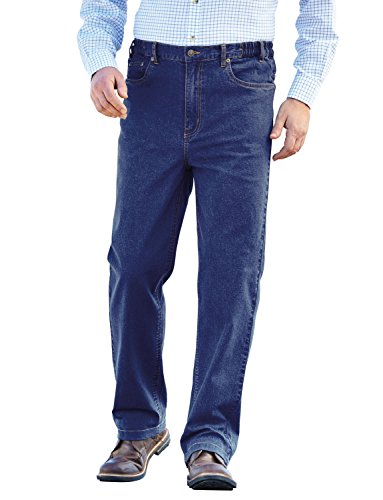 Cintura Elástica Algodón Stonewash Azul Elástico Hombres Pegasus Jeans 6OqwtEaAnn