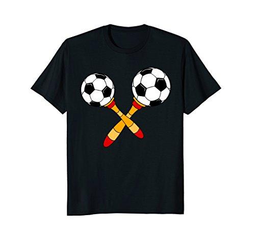 Happy Cinco de Mayo Maracas Soccer Sports T-Shirt (Sports Maraca)