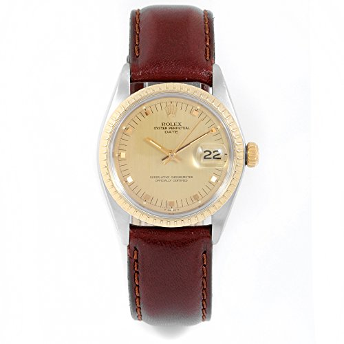 Rolex Date automatic-self-wind male Watch 1505 (Certified Pre-owned)
