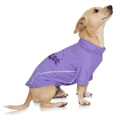 PlayaPup Dog Sun Shirt Eco Collection (UPF 50+), Amnesia, X-Large