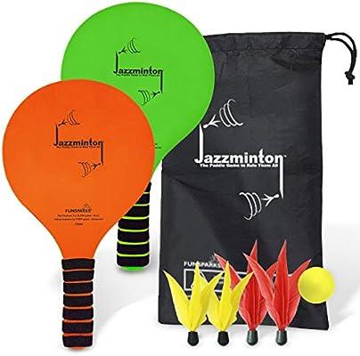 Funsparks Jazzminton - Juego de Pelotas de Golf con Bolsa de ...